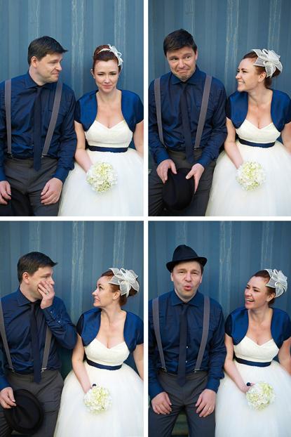 Brautblute 50er Jahre Hochzeit