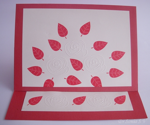 Cards crafts kids projects easel card with kirigami pop up card easel card with kirigami pop up card instructions m4hsunfo