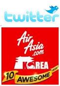 Twitter AirAsia Korea