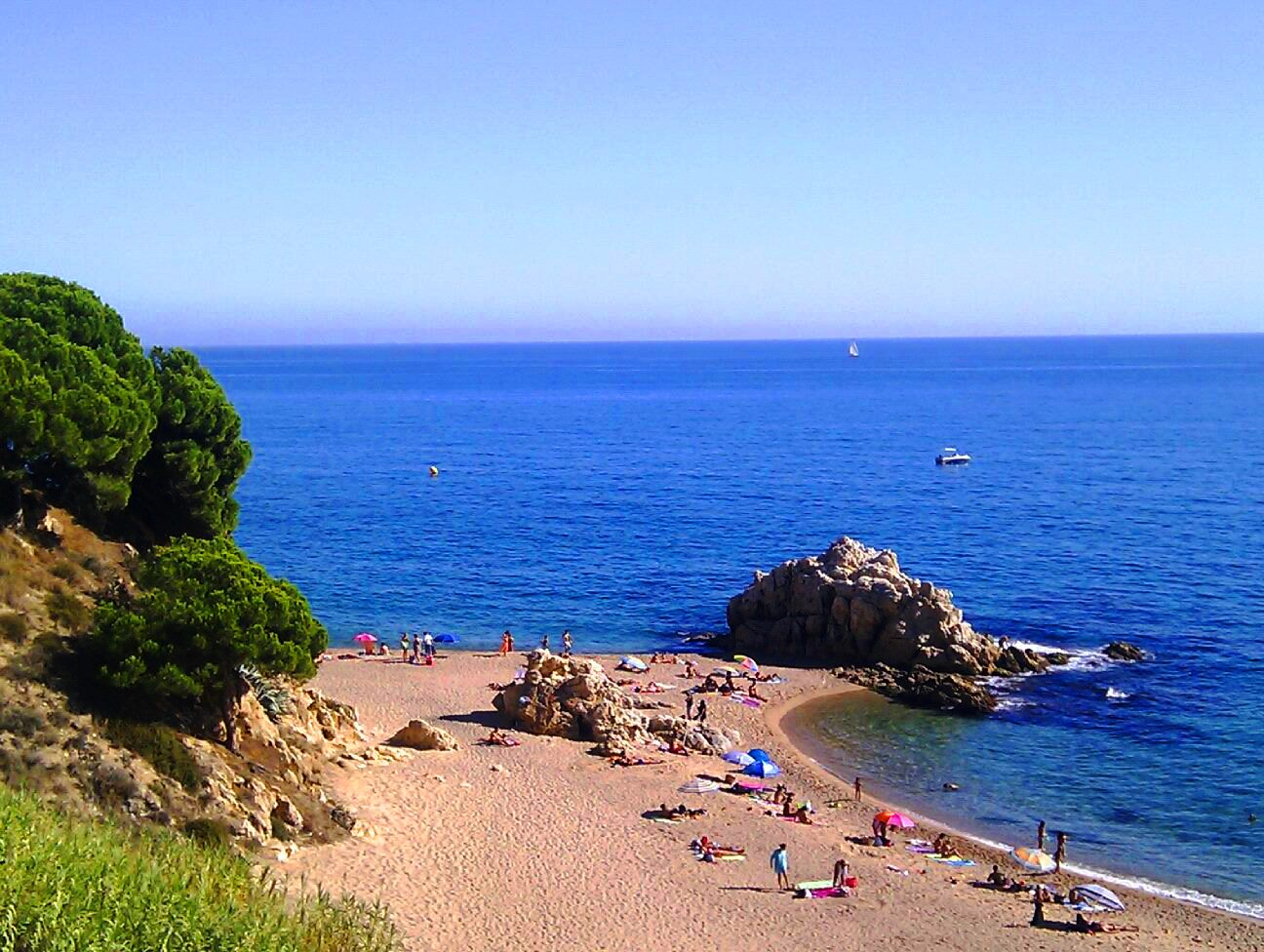 The Ultimate Guiri Experience The Perfect Beach near Barcelona Sant Pol de Mar