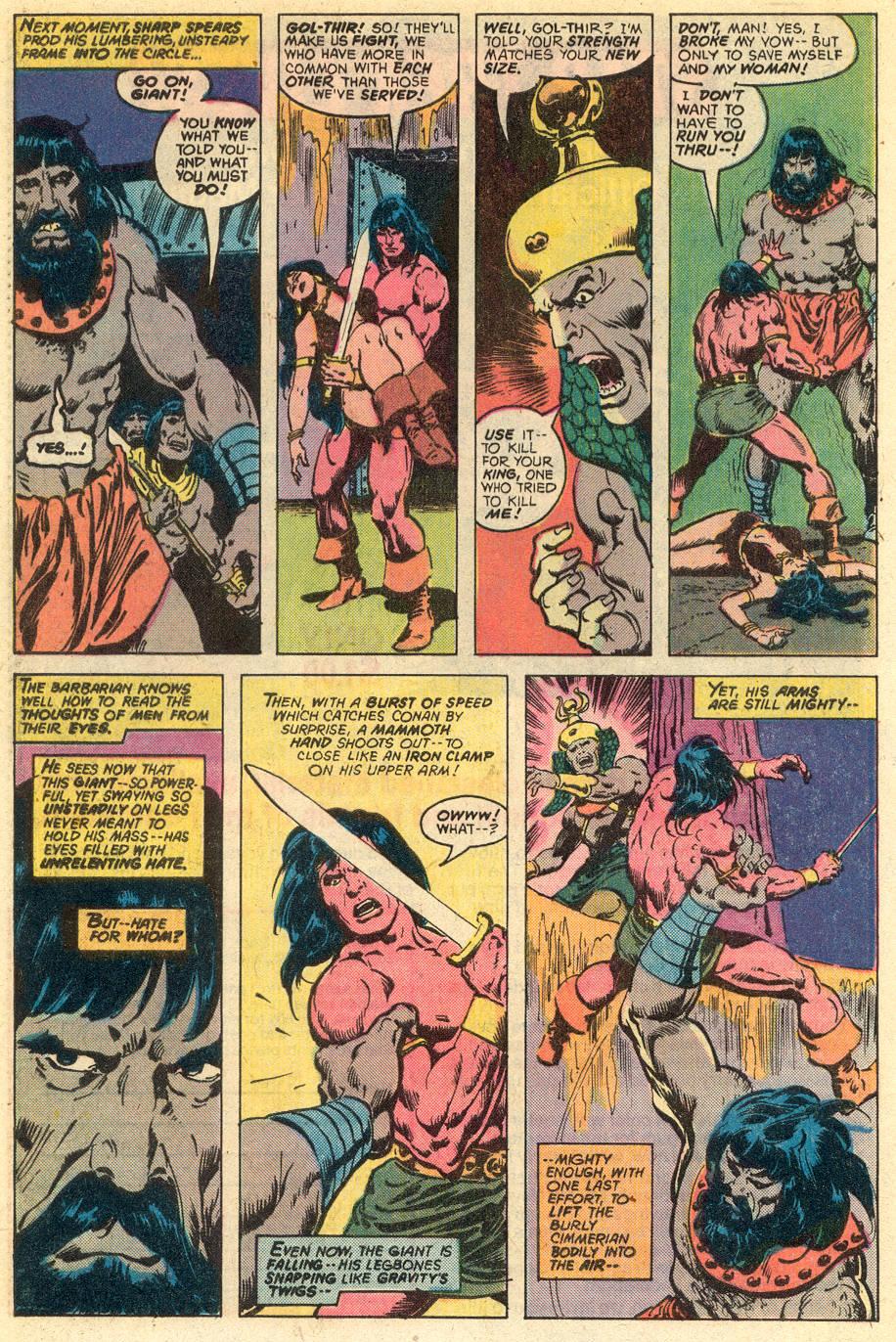 Conan the Barbarian (1970) Issue #77 #89 - English 15