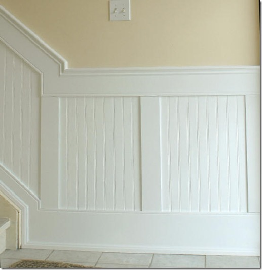 Beadboard Wainscoting Walls