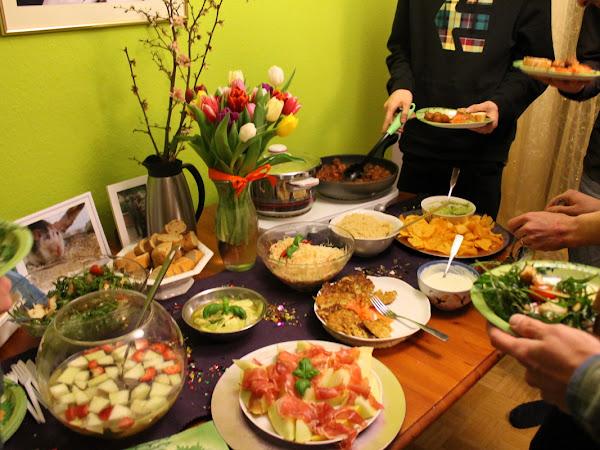 Geburtstag Teil 2 - Das Buffet