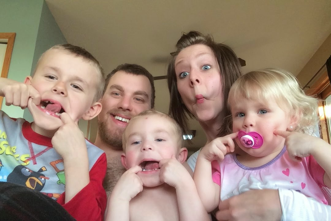 My crazy little family...