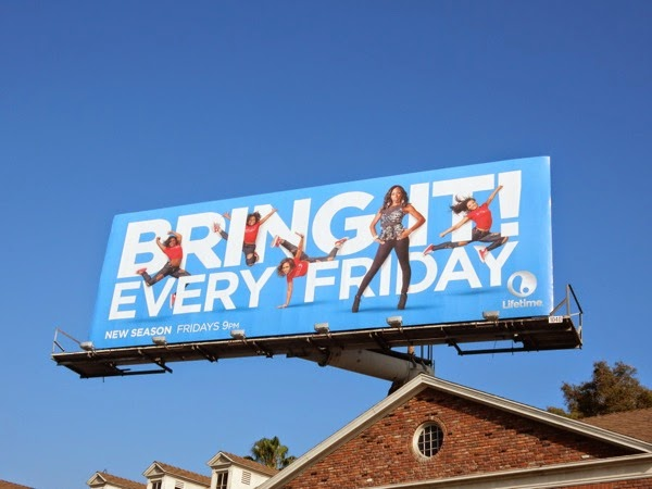 Bring It season 2 Lifetime billboard
