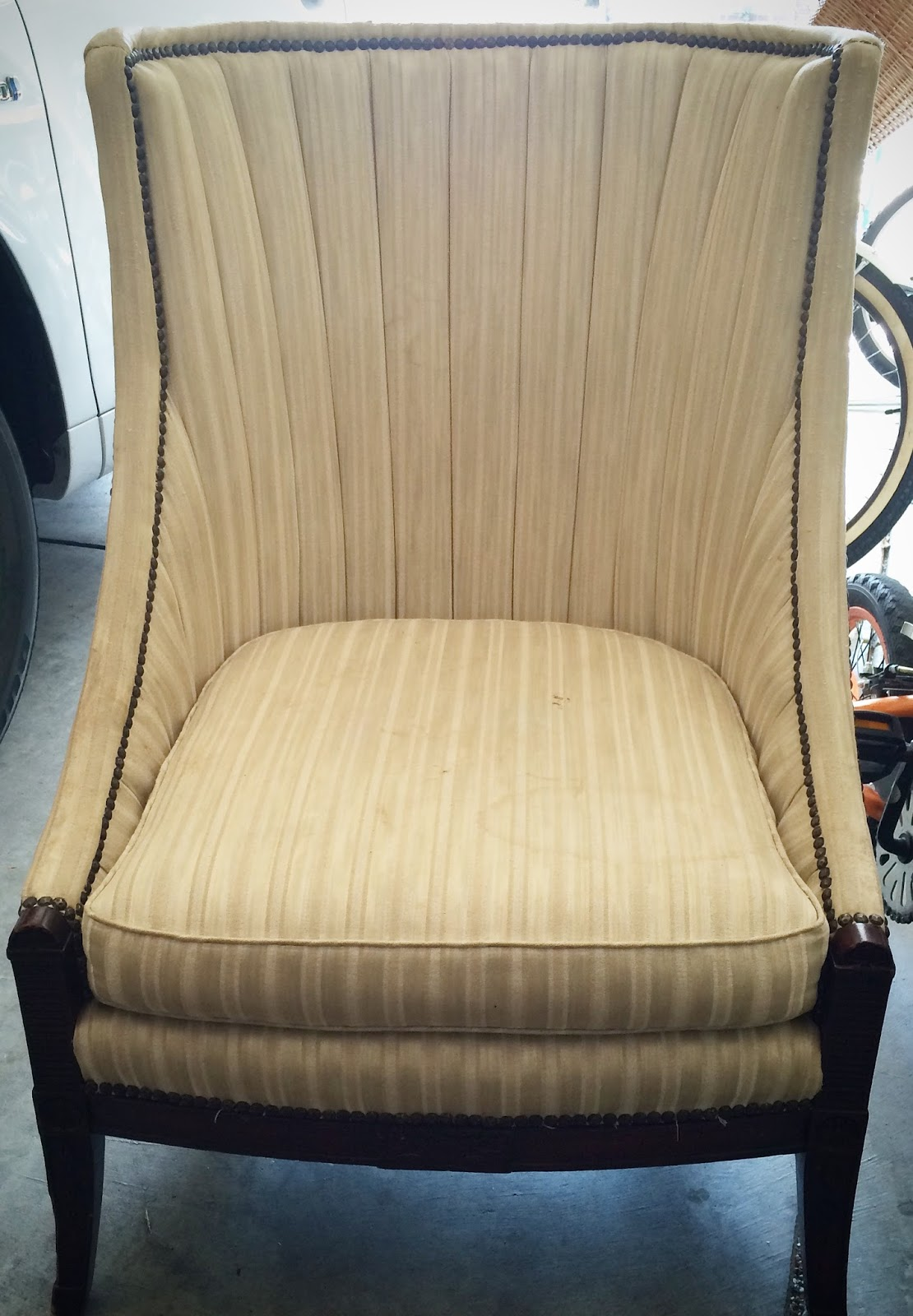 My Neighbor Knows I Love To Update Furniture, And Asked If I Do Upholstery  Work. The Truth Is That I Like To Dabble In Upholstery, But I Learn From  Each New ...