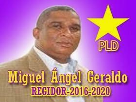 Miguel Angel Geraldo Regidor 2016-2020