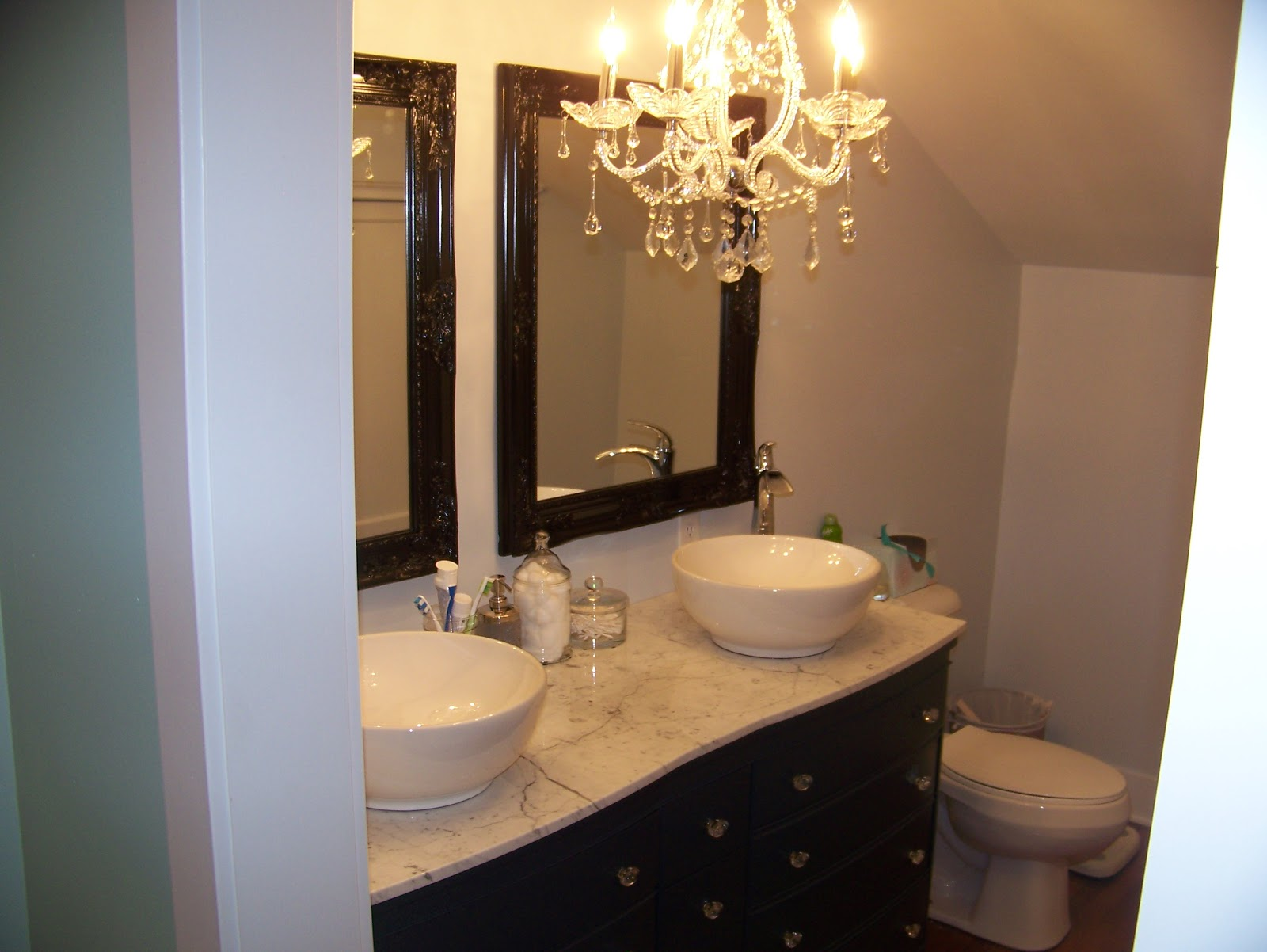 Julie Peterson Simple Redesign Turning A Dresser Into A Bathroom Vanity