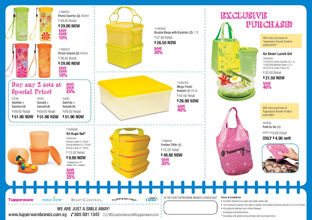 Bpa Free Water Dispenser Ministry of Tupperware: Tupperware Monthly Special 24/Oct ...