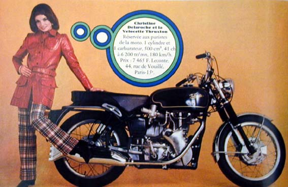 yeye filles et motos