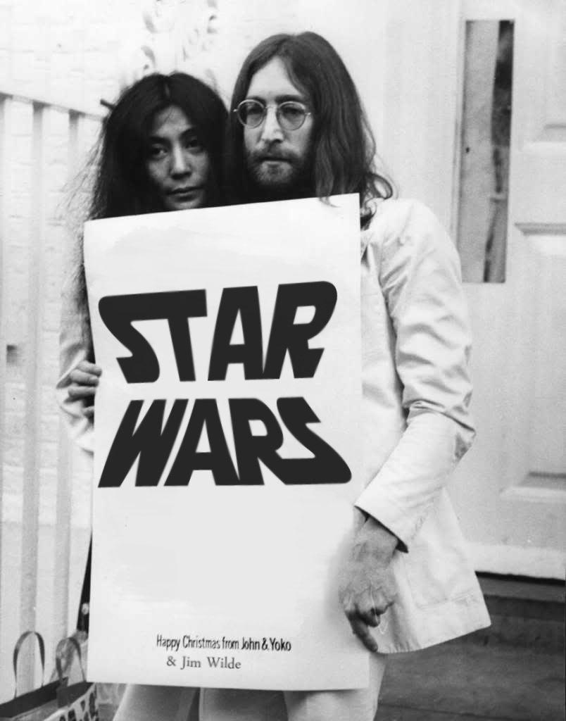 Thought Speakers: Merry X-mas Greeting Poster from John Lennon, Yoko ...