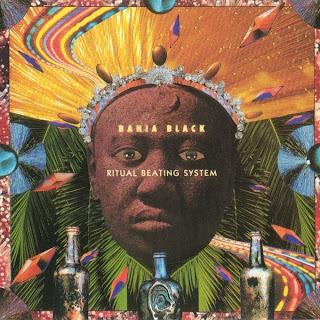 Bahia Black - Ritual Beating System - capa do disco
