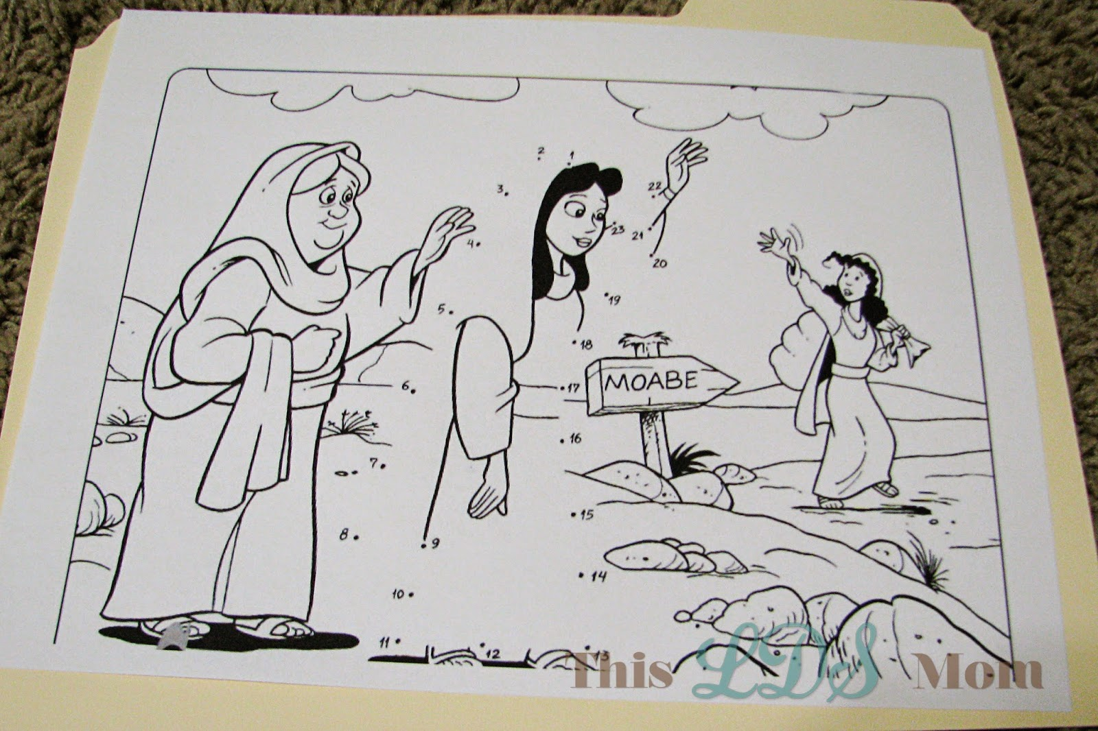 this lds mom scripture heroes ruth u0026 naomi
