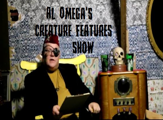 Al Omega's Creature Features Show Shown on BTV