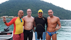 Swim around Pulau Perhentian Besar (15.4 km. 7 hrs 2 mins)