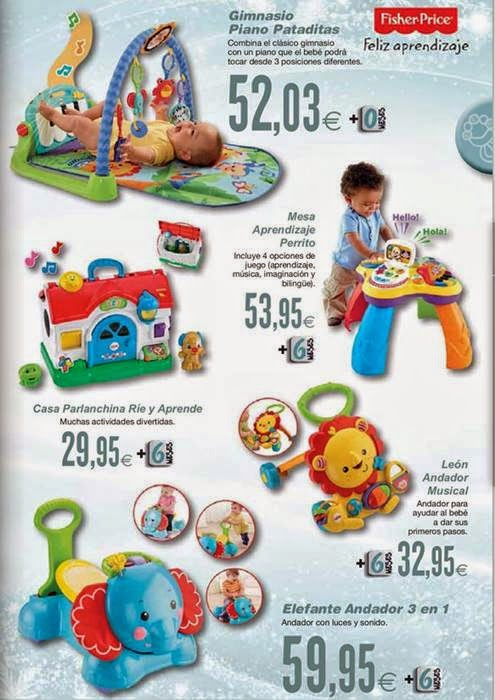 juguetes bebes navidad 2014 hipercor