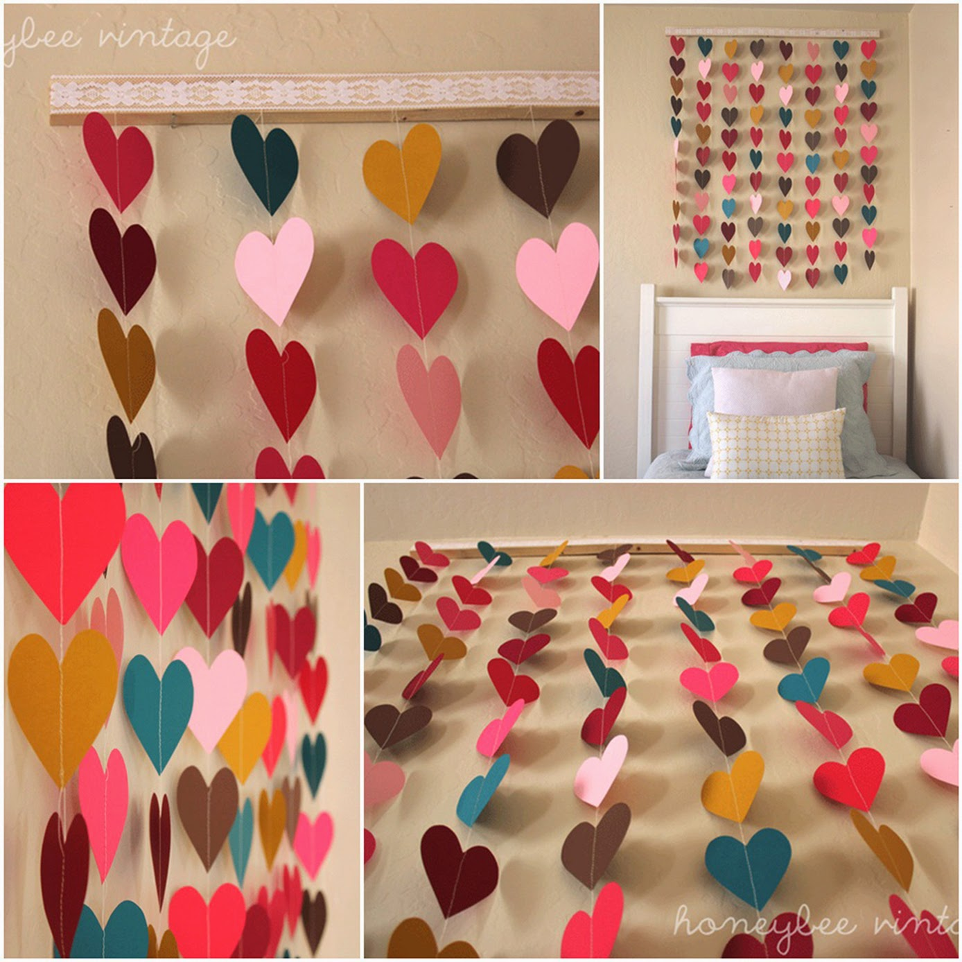 تزیین دیواراتاق باکاغذکشی 23 Ideas To Decorate Girls Room With Butterflies - Shelterness