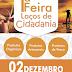 1ª FEIRA LAÇOS DE CIDADANIA 02 DE DEZEMBRO NA UFPI