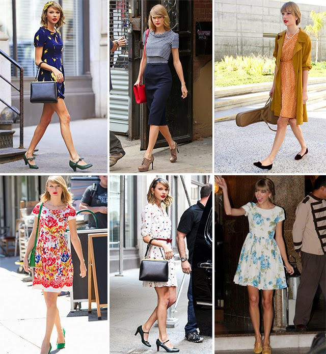 taylor swift look style