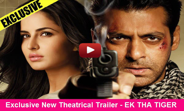 Exclusive New Theatrical Trailer - Ek Tha Tiger - Starring Salman Khan &amp; Katrina Kaif - Releasing 15 August 2012