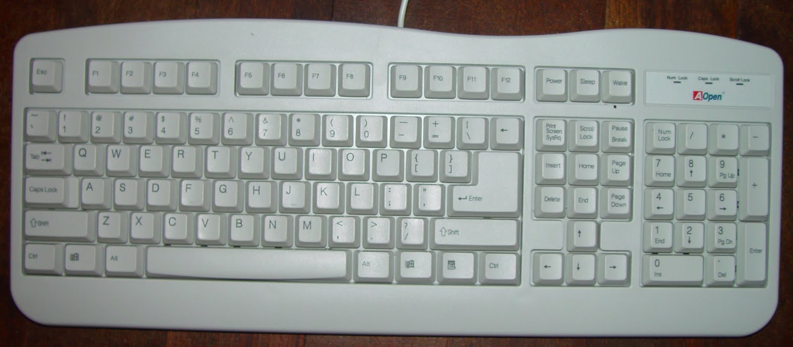 keyboard as an input device