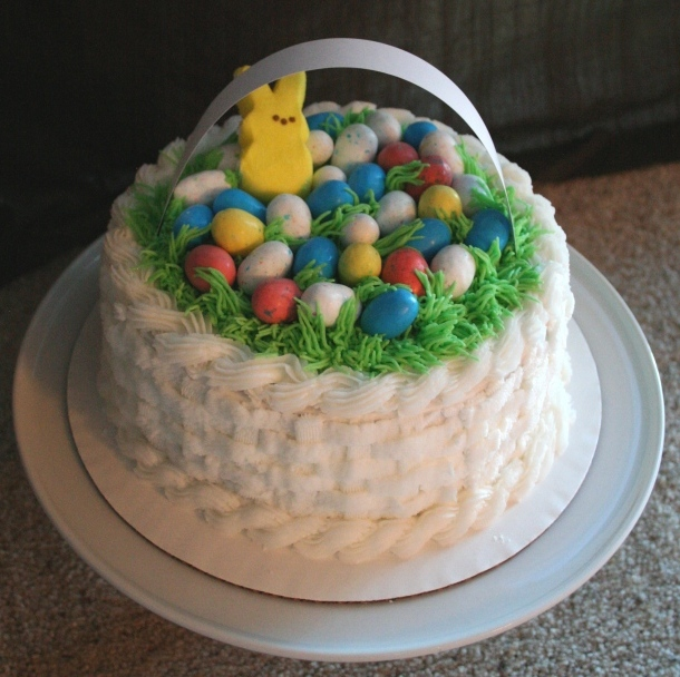 Noodlebug cakes easter is coming easter basket cakes available for pre order three sizes available oval basket 20 six inch round 20 and eight inch round shown 25 negle Gallery