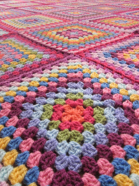 Why Didnt Anyone Tell Me Giant Granny Square Blanket Ta Da