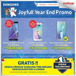 Promo Samsung Akhir Tahun 2015 di Erafone