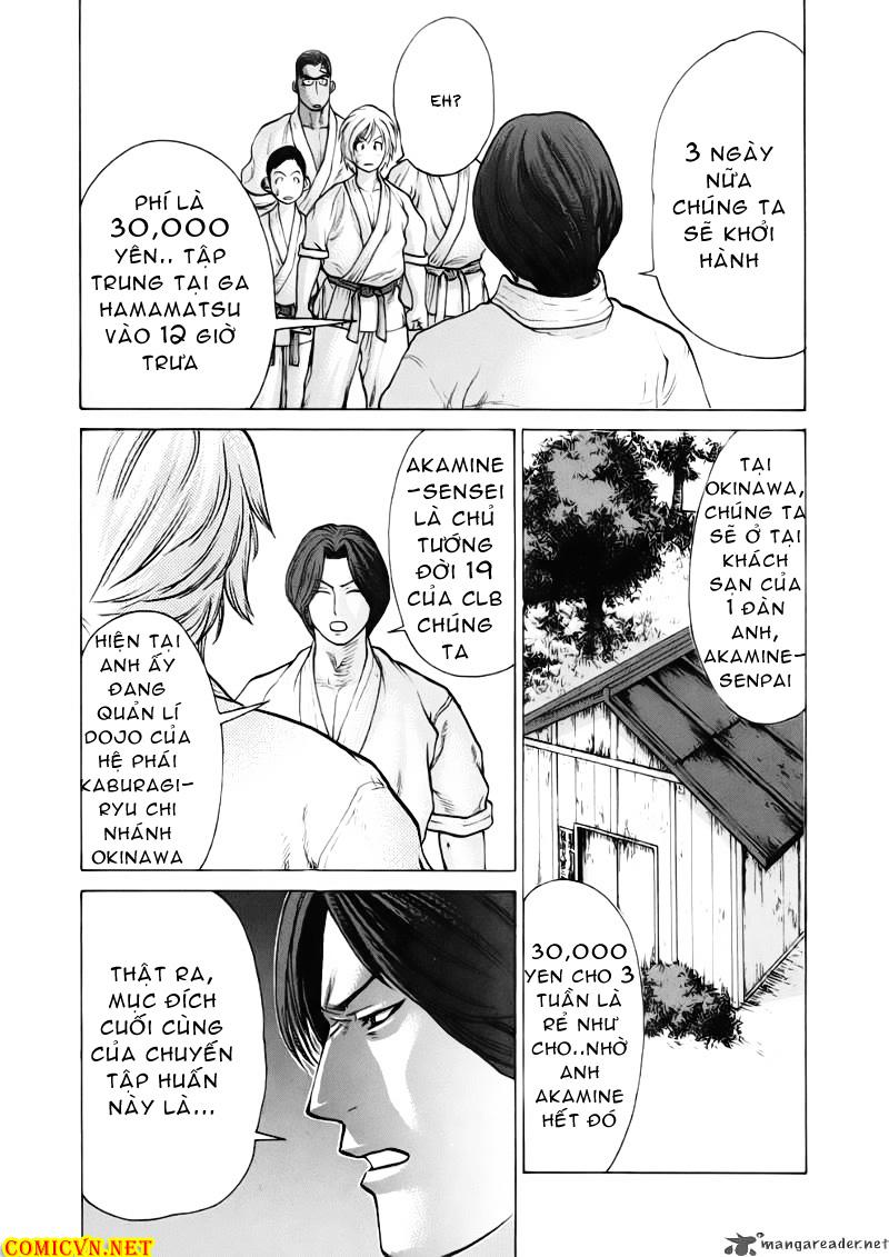 Karate Shoukoushi Kohinata Minoru chap 41 Trang 8