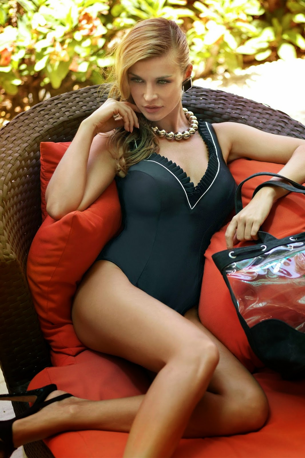 Bikiniworld Swimwear 2014 Lookbook featuring Joanna Krupa