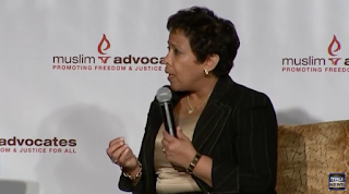 Loretta Lynch Vows To Prosecute Those Who Use 'Anti-Muslim' Speech That 'Edges Toward Violence'