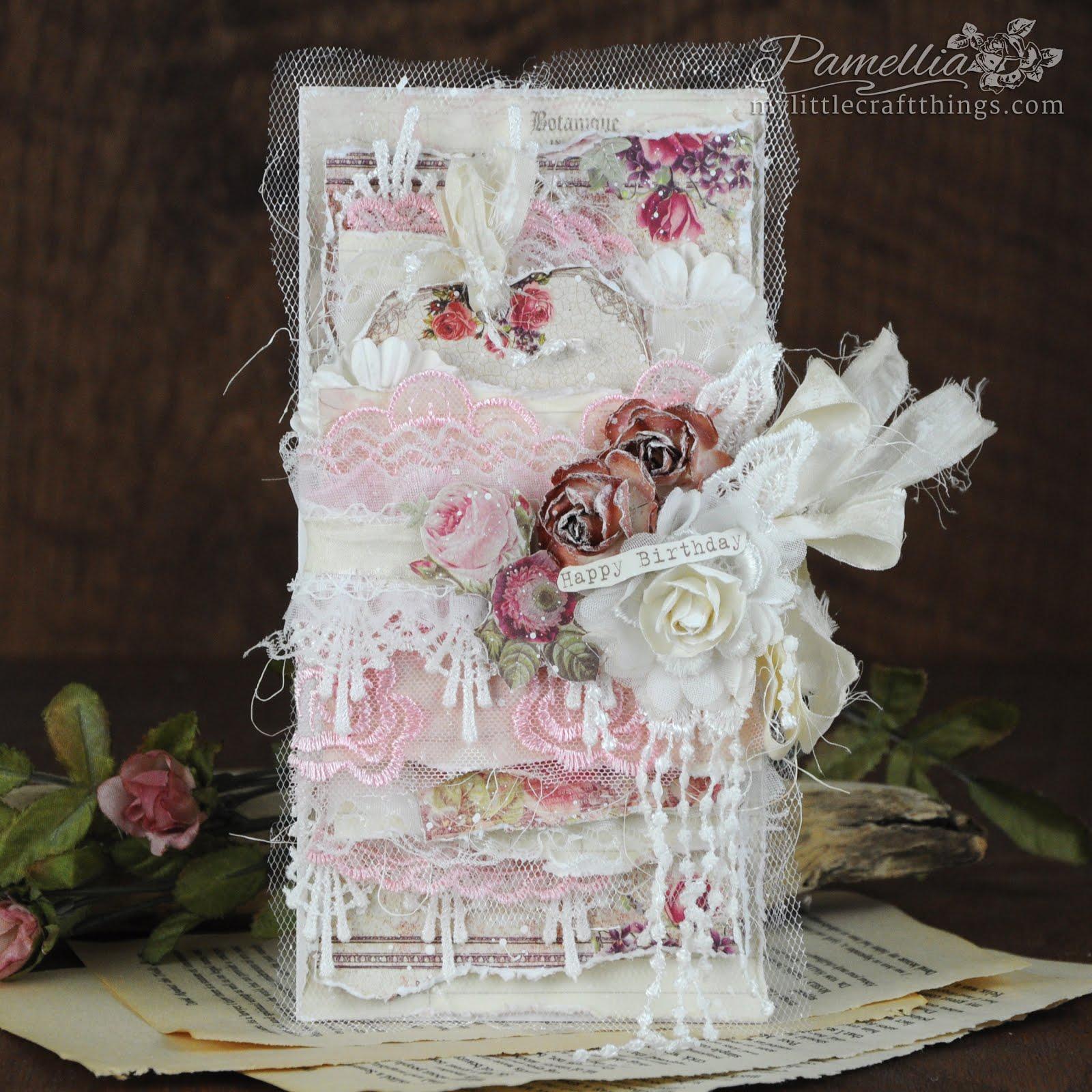 Prima - Vintage Birthday Roses