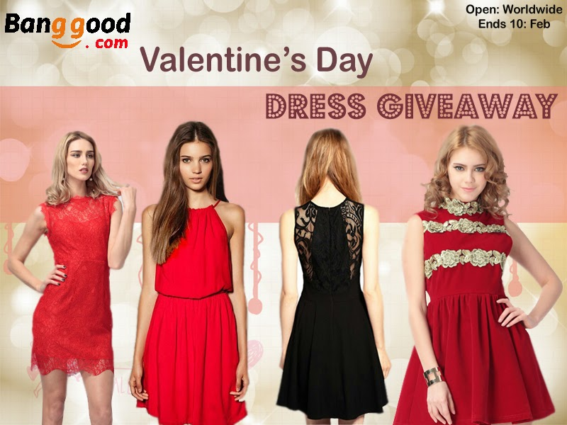 Valentine's Day Dress Giveaway
