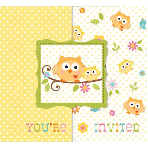Owl Baby Shower Supplies: Party Animalz Party Shop: NEW HAPPI TREE OWL BABY SHOWER