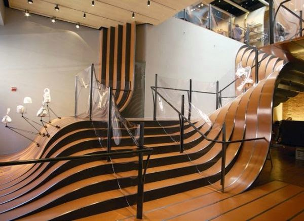 nouveauté d'escalier
