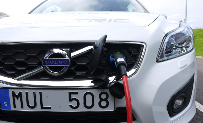 Volvo C30 Electric v2 charging