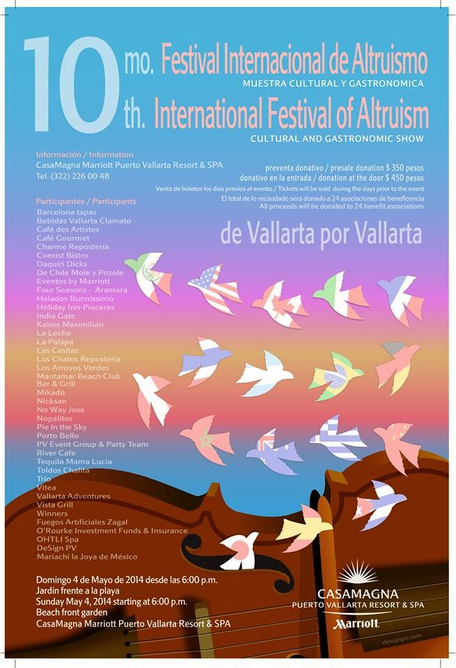 Festival Altruismo Puerto Vallarta 2014