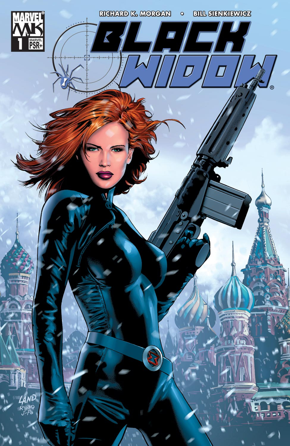 Black Widow (2004) 1 Page 1