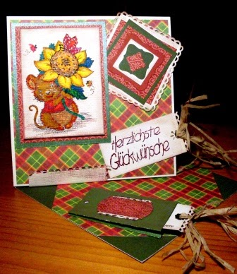 Foto Twisted Easel Card