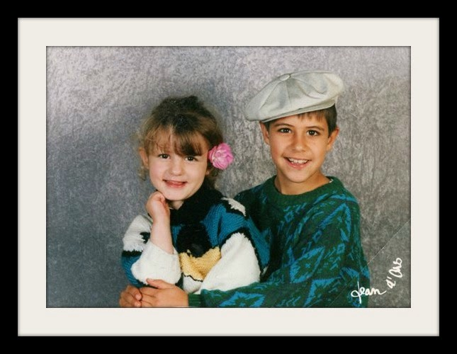 School Photos: Mika, Adeline, and the Jaunty French Beret