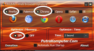 Momo Web Browser Optimize