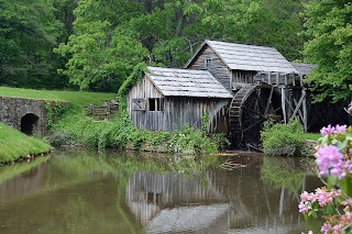 Mabry Mill on Blue Ridge Parkway