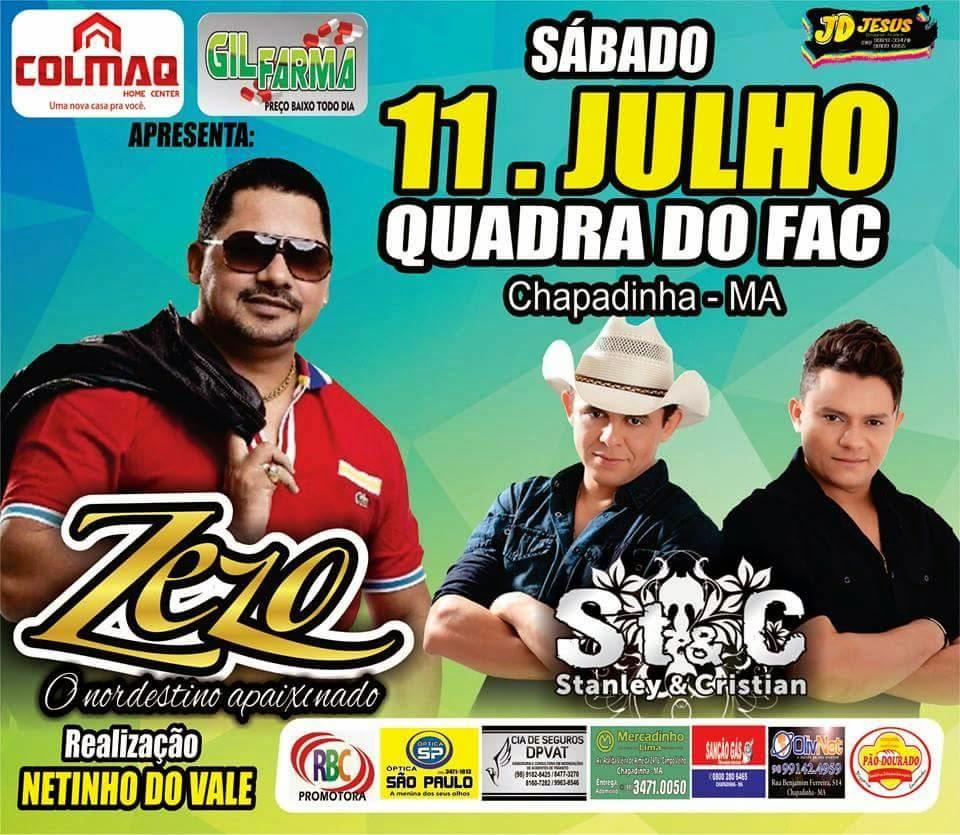 Zezo/11 de Julho em Chapadinha