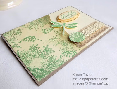Stampin' Up! Awesomely Artistic, faux tearing