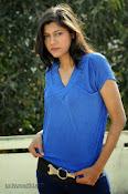 Sneha Tagore Photo shoot in Blue-thumbnail-19