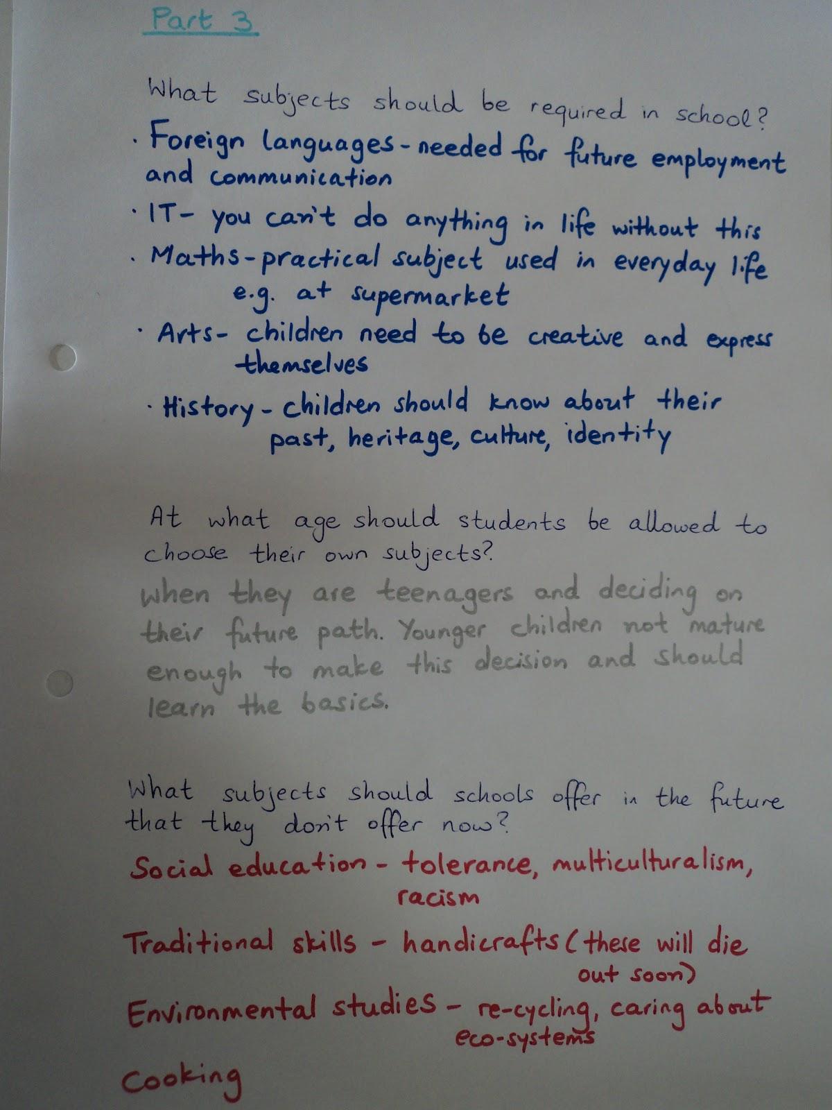 ielts speaking part 3 questions pdf