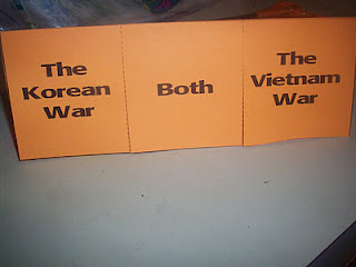 Korean and Vietnam Wars for our Modern History Lapbook