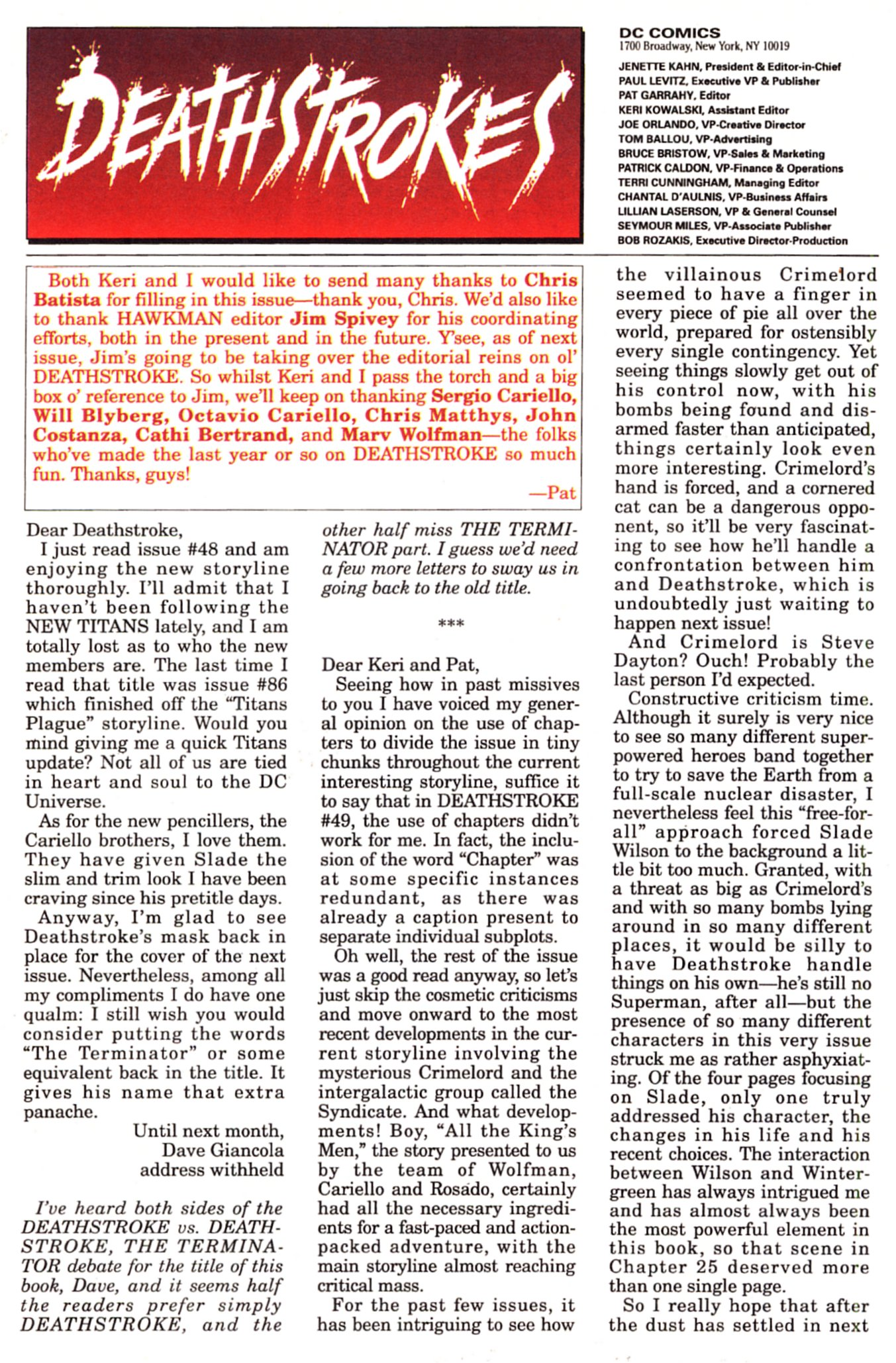 Deathstroke (1991) Issue #52 #57 - English 24