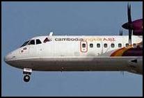 Cambodian airplane - Cambodia Angkor Air