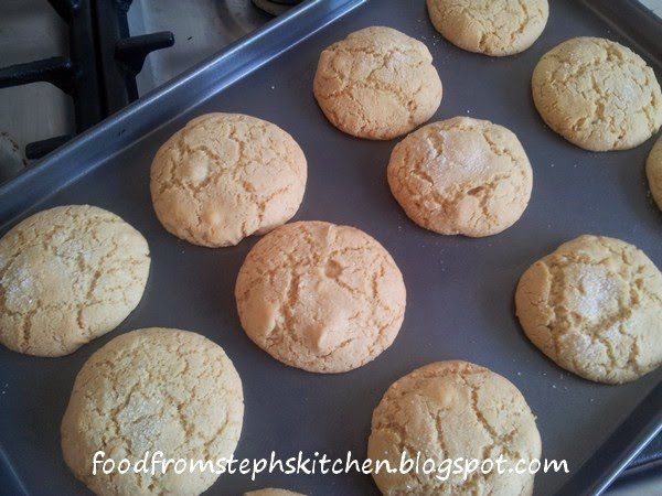 Tray of cookies - Steph's Kitchen